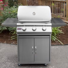 Blaze Grill Cart For 25-Inch 3-Burner Gas Grill