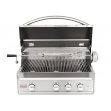 Blaze Professional 34-Inch Built-In Natural Gas With Rear Infrared Burner